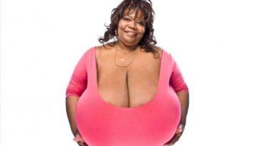 Annie Hawkins-Turner: donna con il seno più grande del mondo