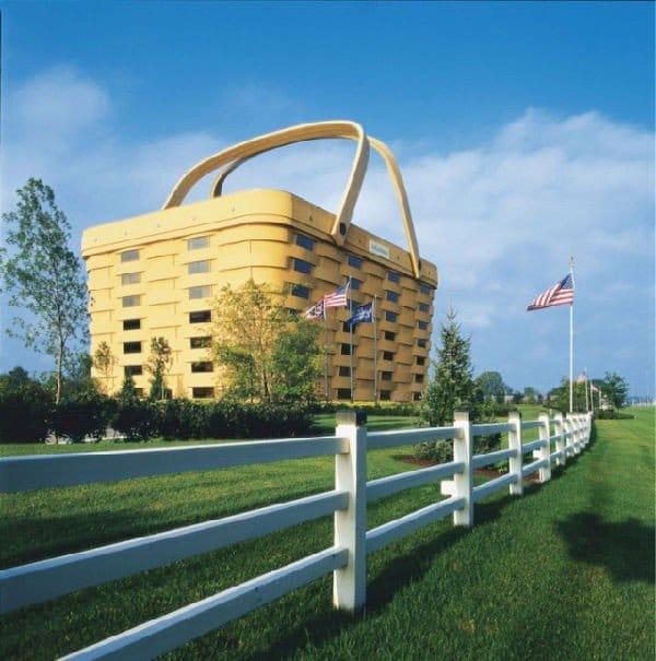 Casa a forma di cesto