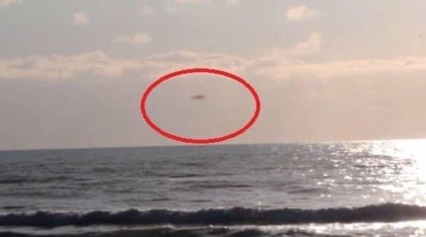 Ufo nei cieli di Ostia