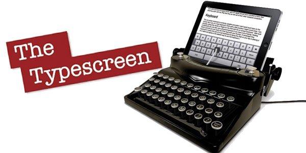la macchina da scrivere per iPad