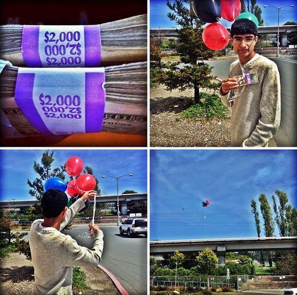 Lavish: ossessionato dalla ricchezza dorme tra migliaia di dollari