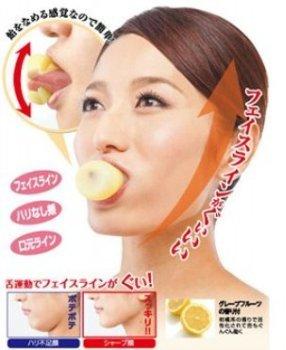 accessorio per ginnastica facciale anti guance candenti