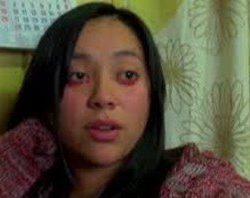 Yaritza Oliva: la ragazza che piange sangue.