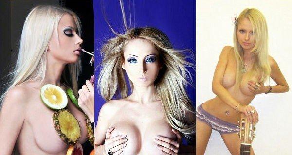Valeriya Lukyanova: foto in Topless