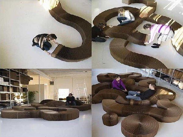 mobili strani e curiosi idee design per la casa