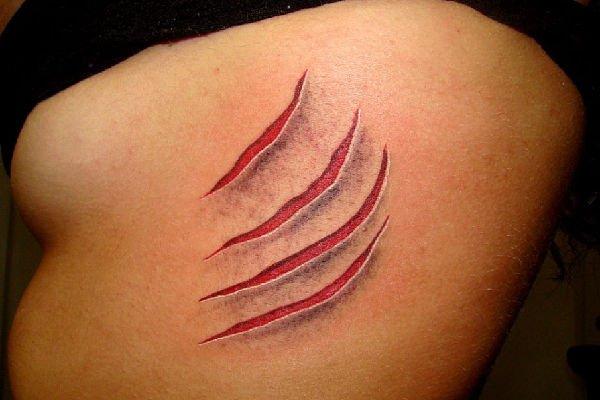 Tatuaggi strani originali