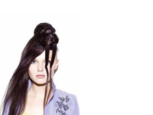 Strane acconciature capelli